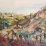 """Governors Bay, Port Hills – Christchurch"", Oil on canvas, 700mm x 560mm"