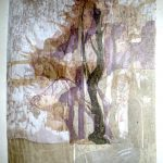 """Twilight"" woodcut,  400mm x 500mm"