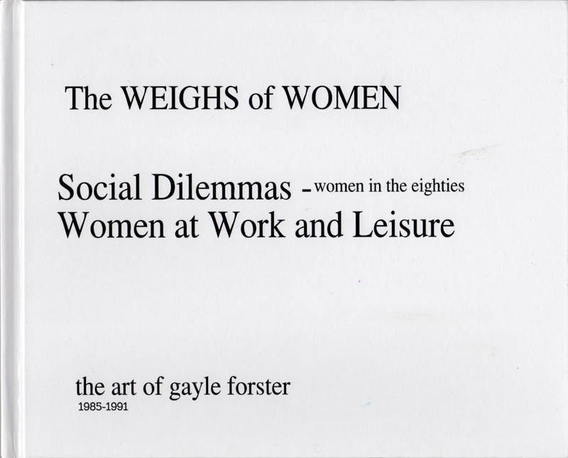 The WEIGHS of WOMEN cover